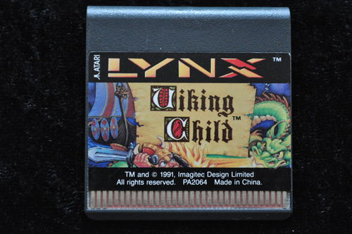 Viking Child Atari Lynx