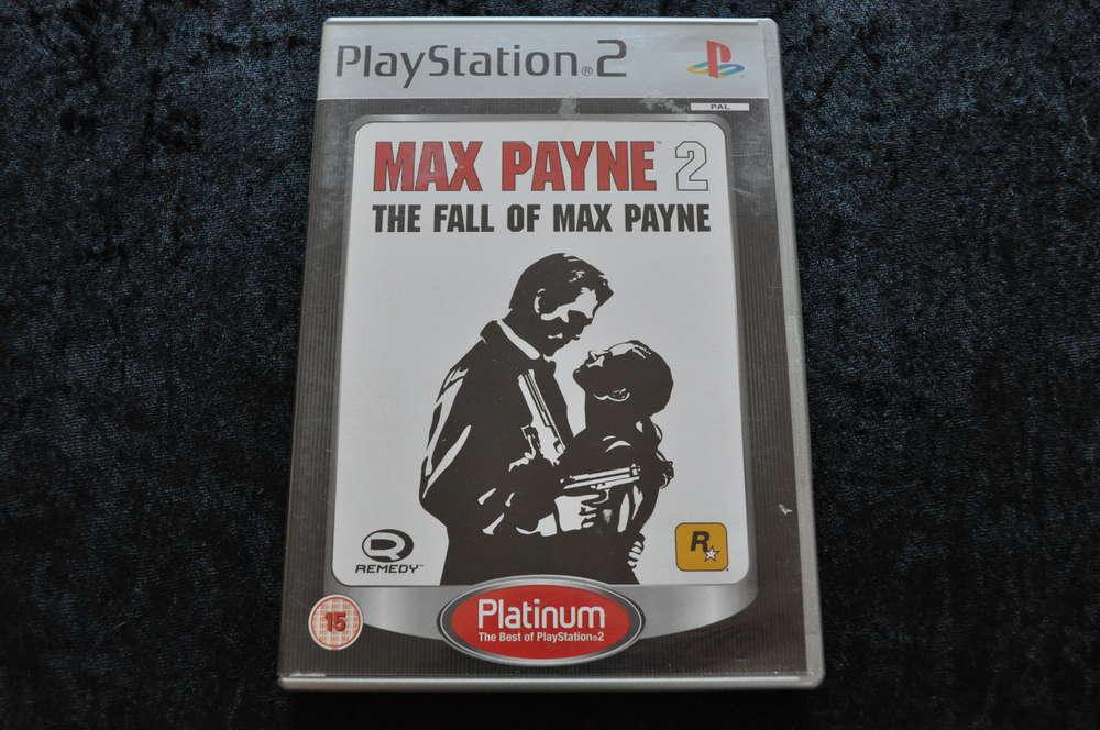 Max Payne 2 The Fall Of Max Payne Platinum Playstation 2 Ps2