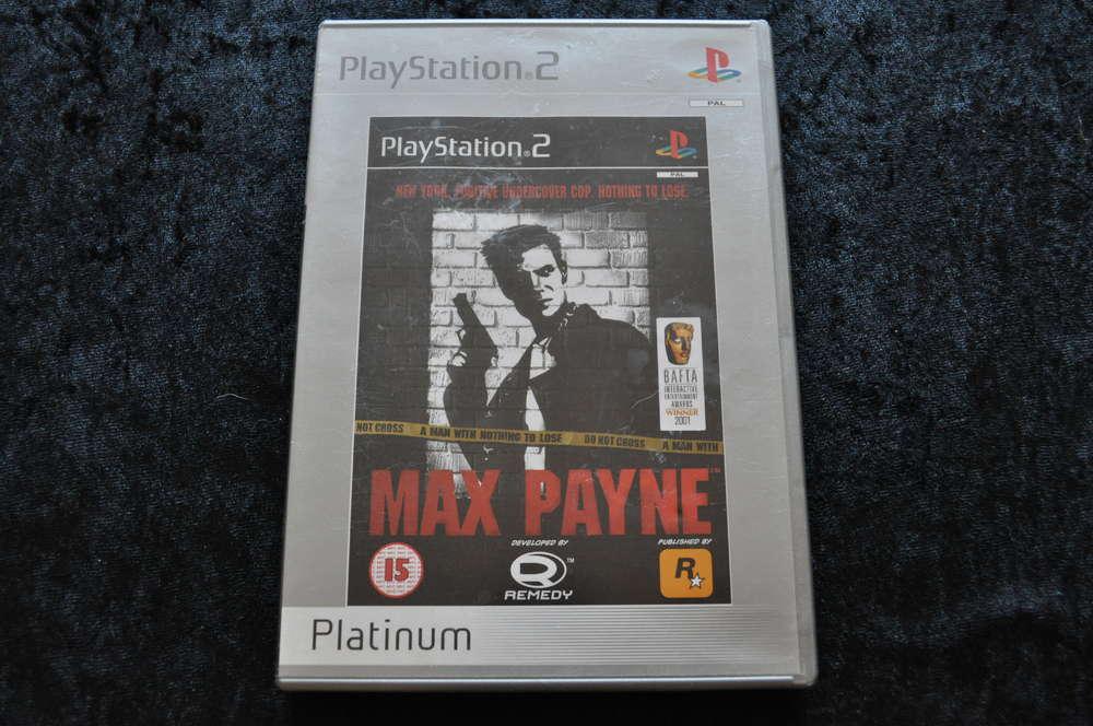 Max Payne No Manual Platinum Playstation 2 Ps2 Retrogameking Com