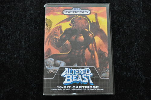 Altered Beast No Manual Sega Genesis