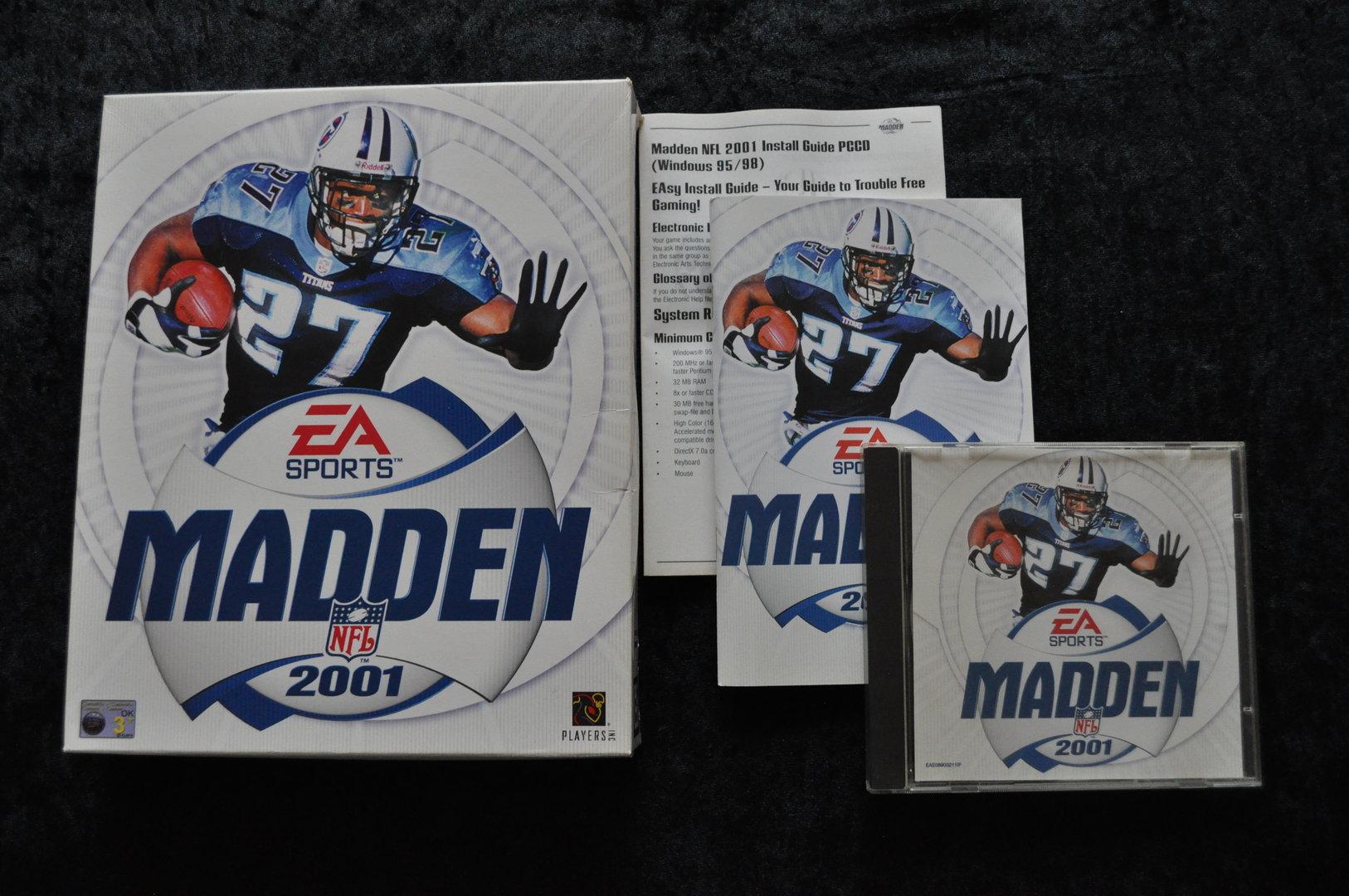 Madden NFL 2001 Big Box PC Game - Retrogameking com | Retro
