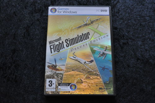 Microsoft Flight Simulator X De Luxe Edition PC Game