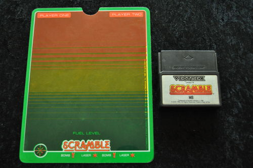 Scramble With Overlay Vectrex