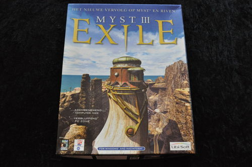 Myst III Exile Big Box PC Game
