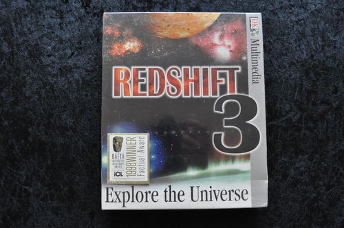 Redshift 3 Explore The Universe Big Box New In Seal PC Game