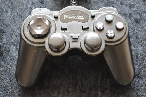 Playstation 1 Controller Silvercrest Dual Shock