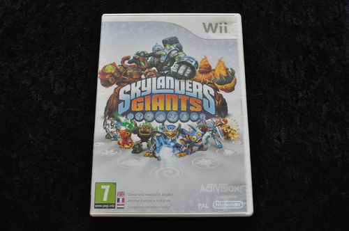 Skylanders Giants Geen Manual Nintendo Wii Game