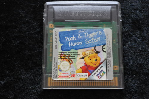 Disney's Pooh And Tigger's Hunny Safari Gameboy Color