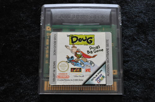 Disney's Doug Doug's Big Game Gameboy Color