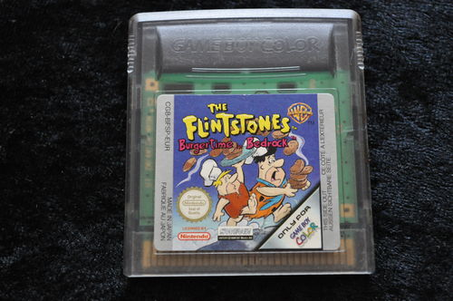 The Flintstones Burgertime In Bedrock Gameboy Color