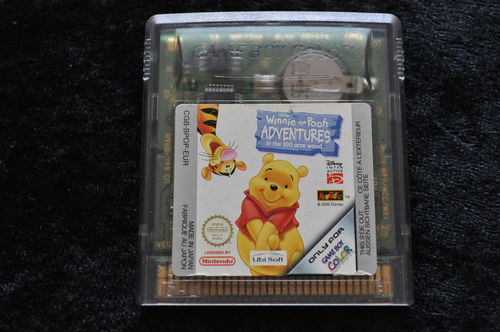 Winnie The Pooh Adventuers In The 100 Acre Wood Gameboy Color