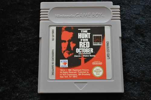 The Hunt For The Red October Gameboy Classic