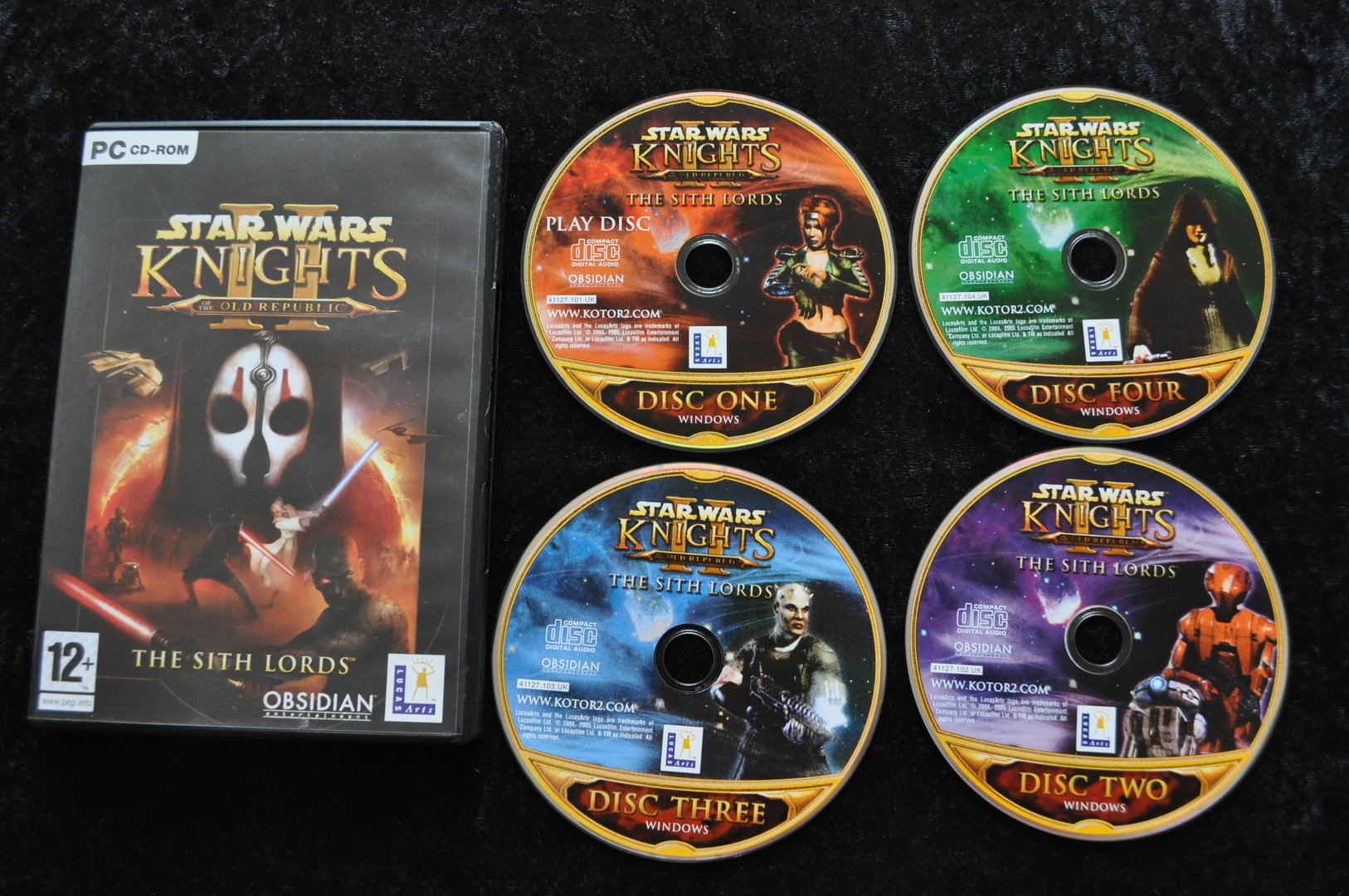 Star Wars Knights Of The Old Republic II The Sith Lords PC