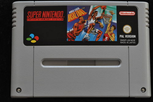 World Leaque Basketball Nintendo SNES