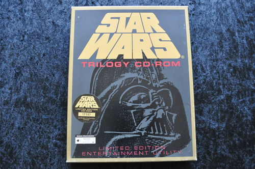 Star Wars Trilogy CD Rom Limited Edition Nr 17157 Big Box Pc Game