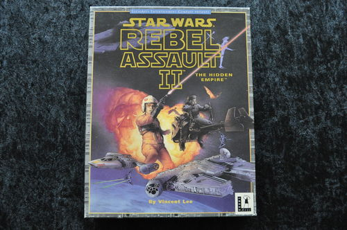 Star Wars Rebel Assault II The Hidden Empire Big Box Pc Game