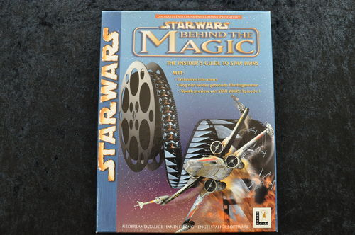 Star Wars Behind The Magic Big Box Pc Game