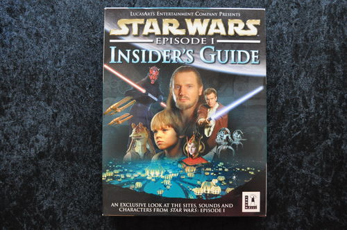 Star Wars Episode 1 Insider's Guide Big Box Pc Game