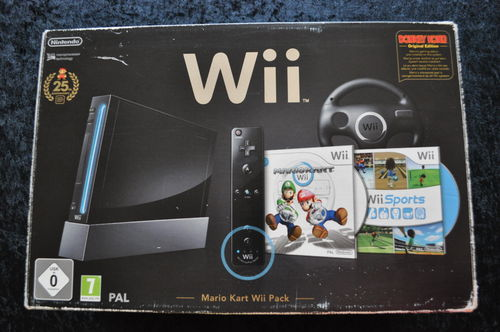 Nintendo Wii Black 25th Anniversary Edition