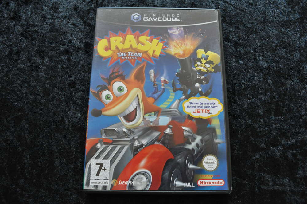Crash Tag Team Racing Nintendo Gamecube - Retrogameking com