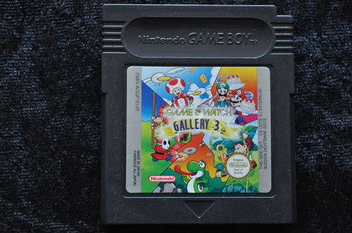 Game And Watch Gallery 3 Gameboy Color