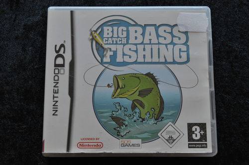 Big Catch Bass Fishing Nintendo DS