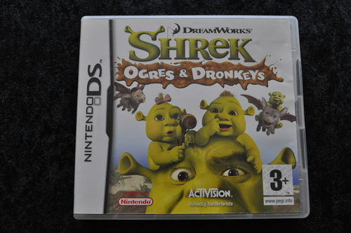 Shrek Ogres And Donkeys Nintendo DS Geen Manual