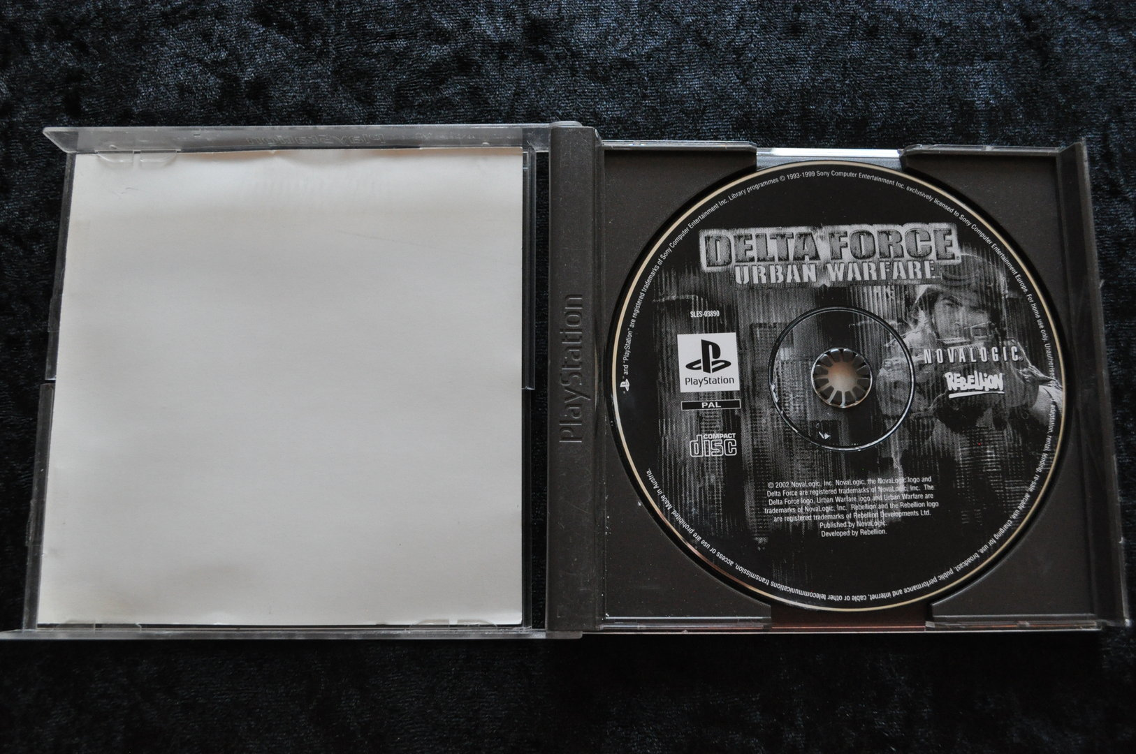 Delta Force Urban Warfare Playstation 1 PS1 No Manual