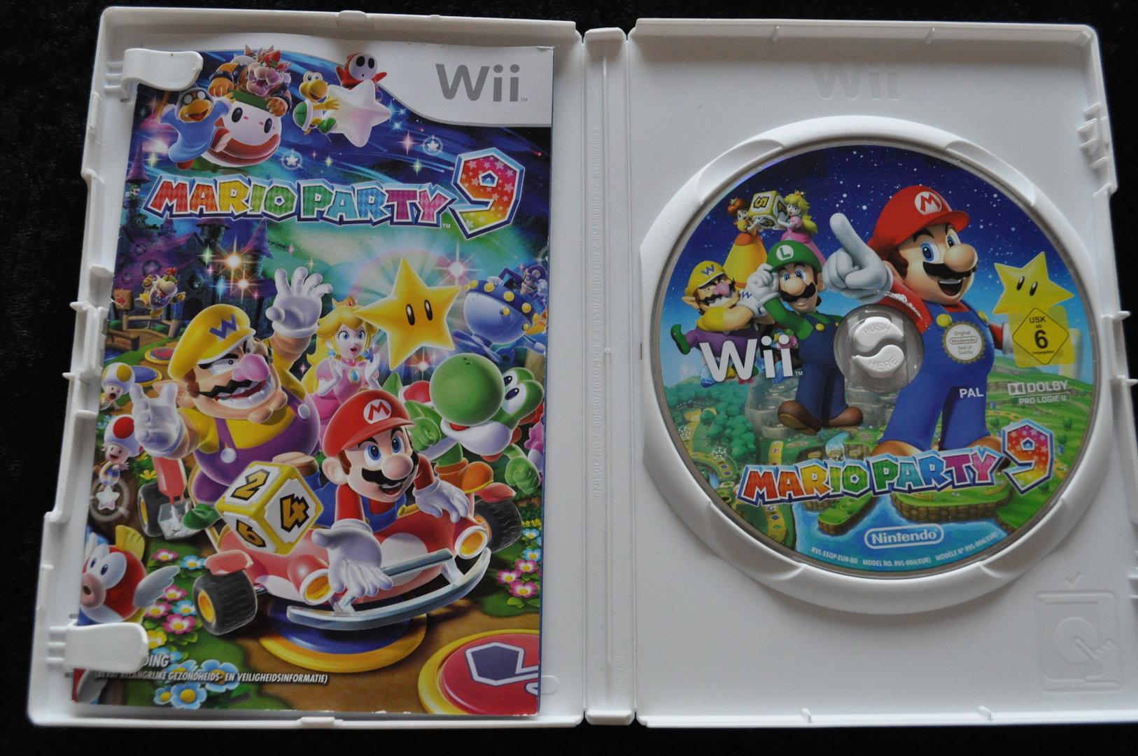 Mario Party 9 Nintendo Wii Retrogamekingcom Retrogames