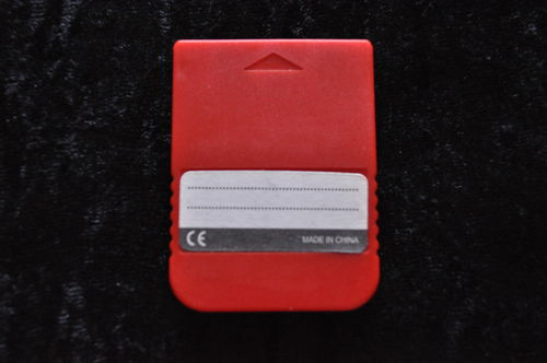 Memory Card Red Playstation 1