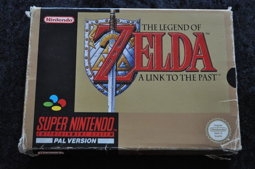 The Legend Of Zelda A Link To The Past Nintendo SNES Boxed