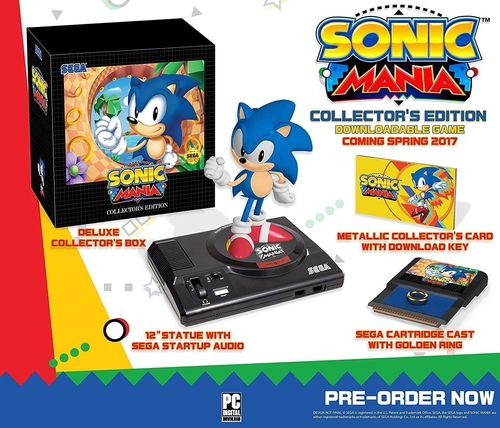 Sonic Mania Collectors Edition Playstation 4 PS4 Nieuw