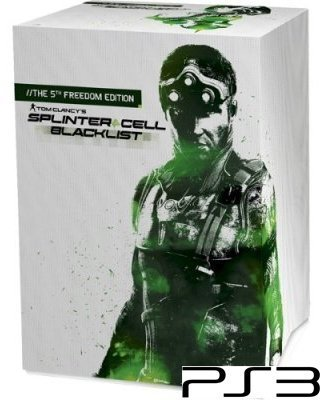 Tom Clancy's Splinter Cell Blacklist 5th Freedom Edition Playstation 3 PS3 Nieuw