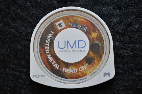 Twisted Metal Head On Sony PSP