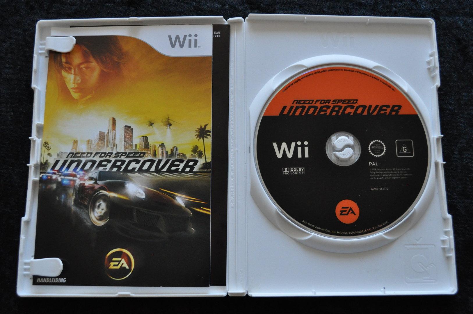 Need For Speed Undercover Nintendo Wii - Retrogameking com