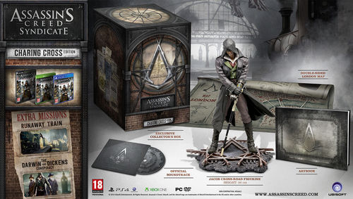 Assassins Creed Syndicate Charing Cross Edition Playstation4 PS4 No Game
