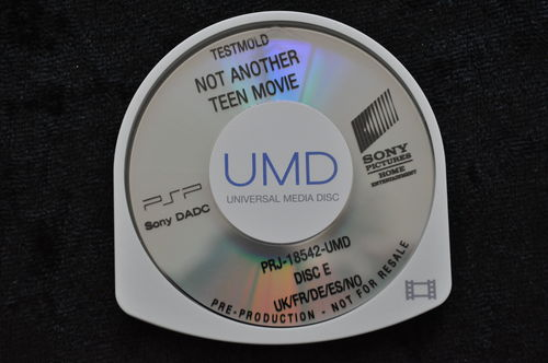 Not Another Teen Movie UMD TESTMOLD Sony PSP