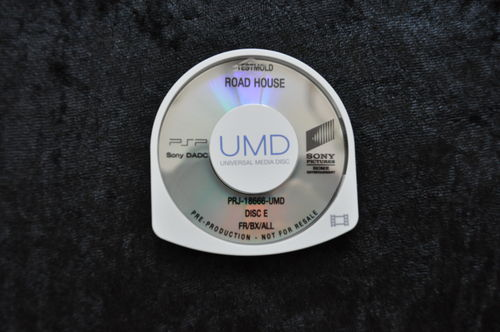 Road House UMD TESTMOLD Sony PSP