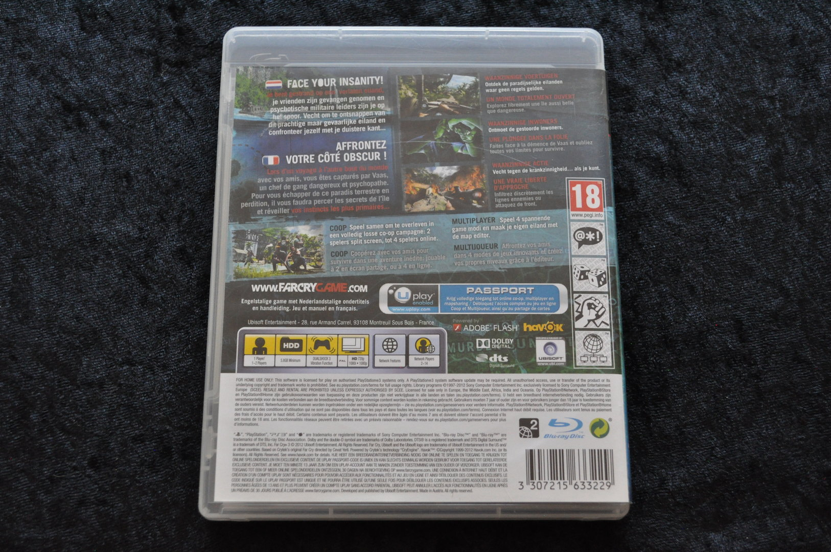 Far Cry 3 Playstation 3 PS3 - Retrogameking com | Retro