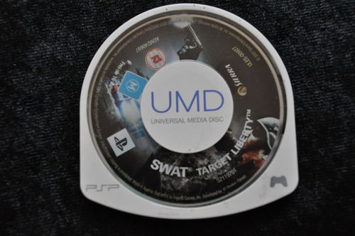 Swat Target Liberty Sony PSP Disc Only