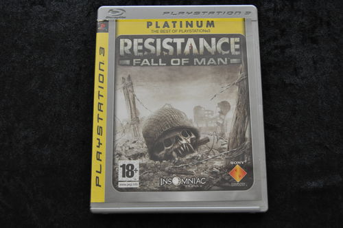 Resistance Fall Of Man Playstation 3 PS3 Platinum
