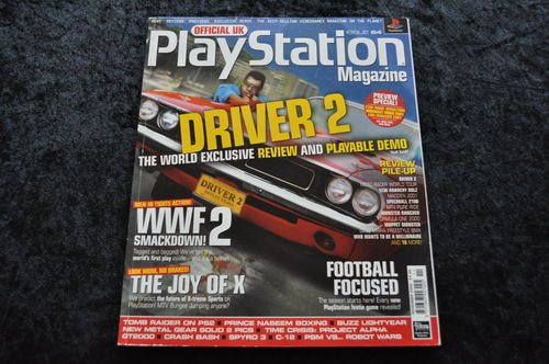 Official UK Playstation Magazine Nr 64