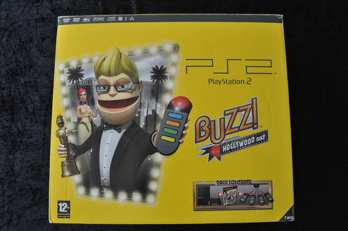 Buzz Hollywood Quiz Edition Boxed Playstation 2 PS2