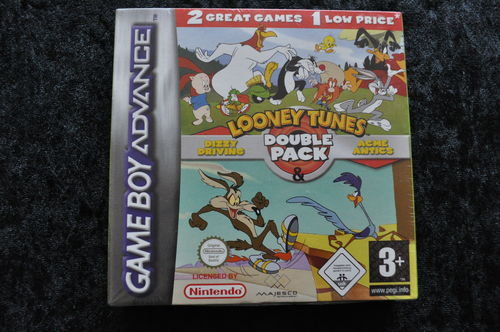 Looney Tunes Double Pack Gameboy Advange New Sealed