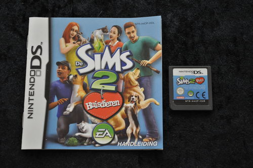 Sims 2 huisdieren Nintendo DS Cart en Manual