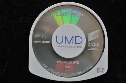 You Got Served UMD TESTMOLD Sony PSP
