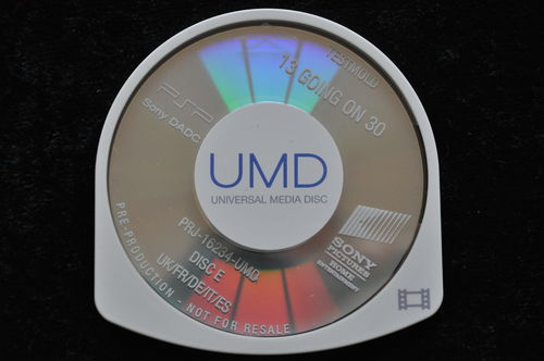 13 Going On 30 UMD TESTMOLD Sony PSP
