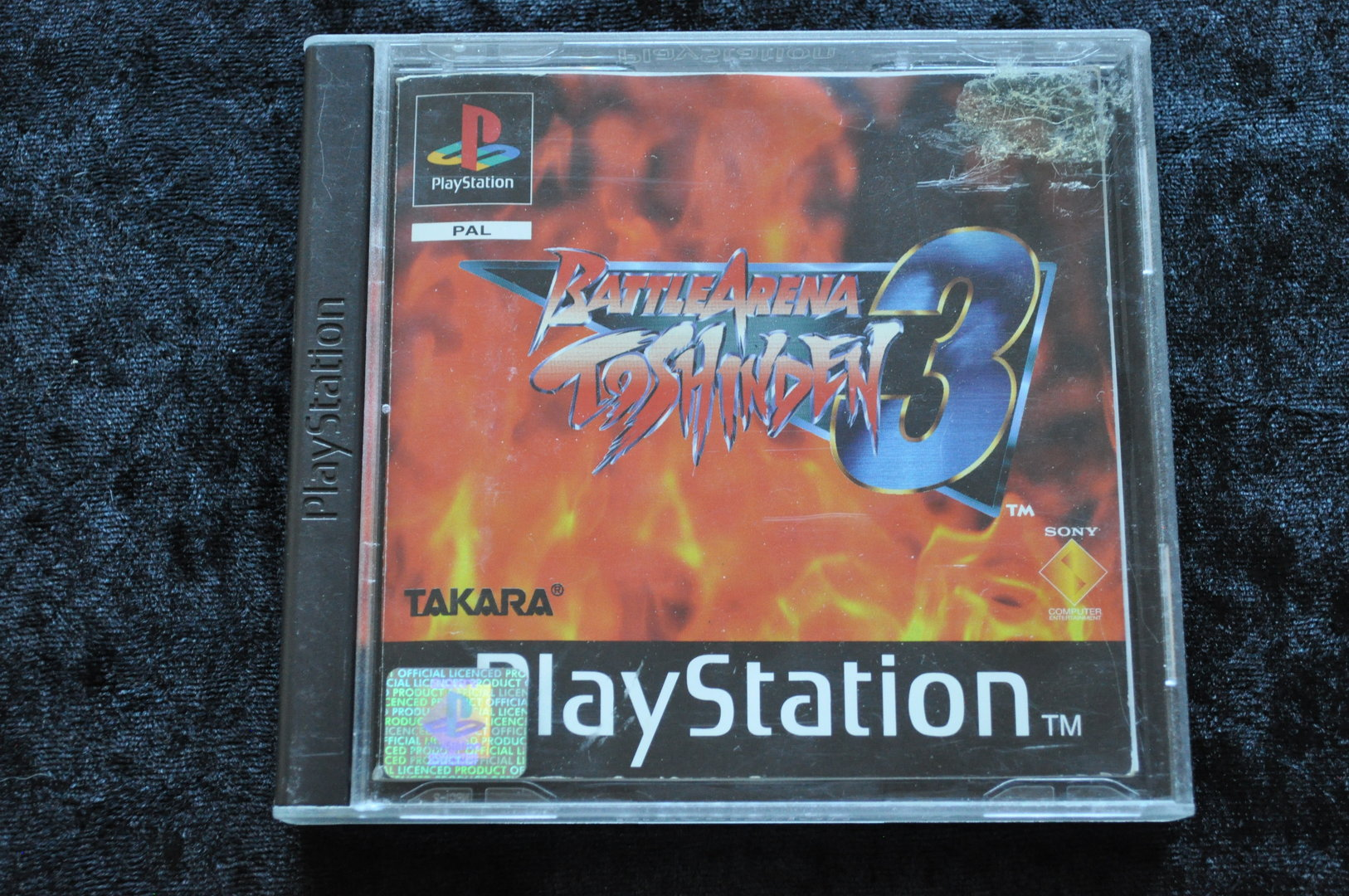 Battle Arena Toshinden 3 Playstation 1 Ps1 No Front