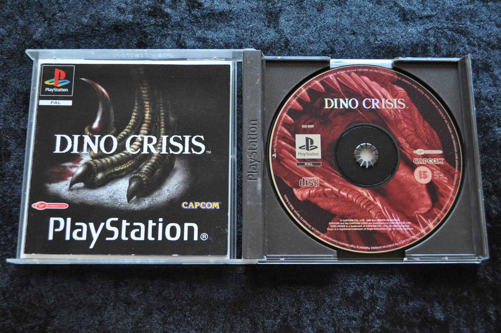 Dino crisis Playstation 1 PS1 - Retrogameking com | Retro