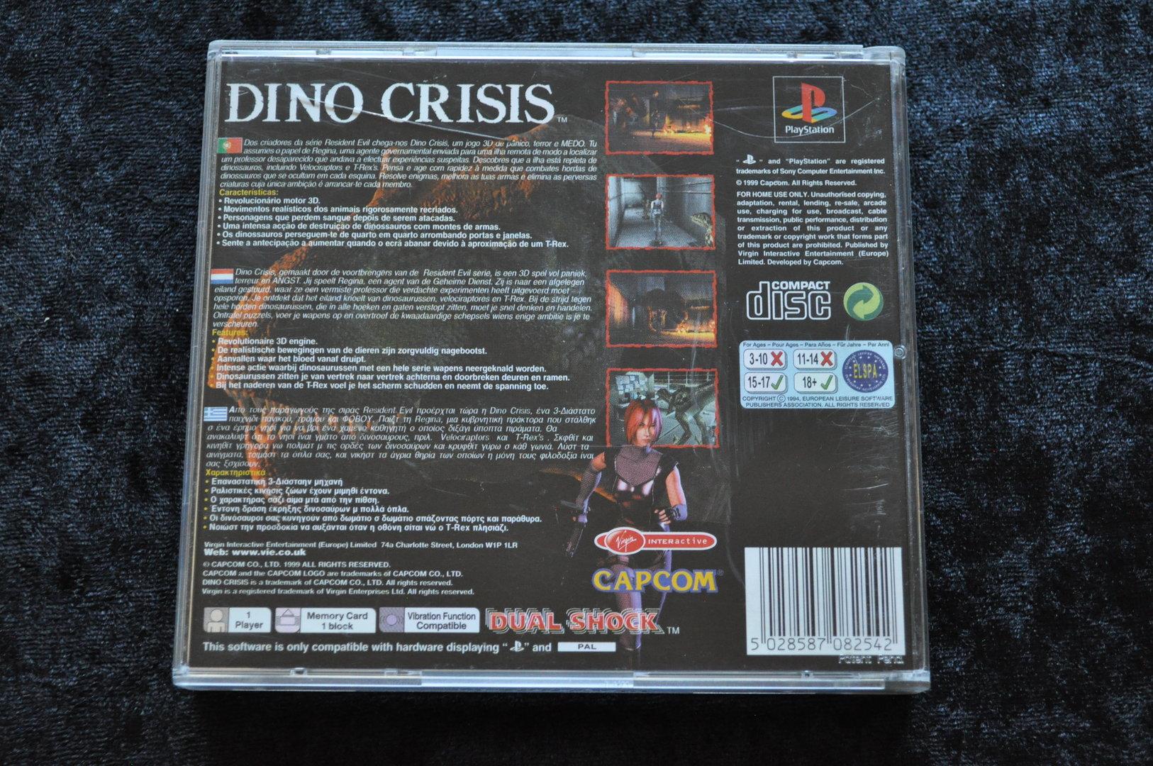 Dino crisis Playstation 1 PS1 - Retrogameking com   Retro